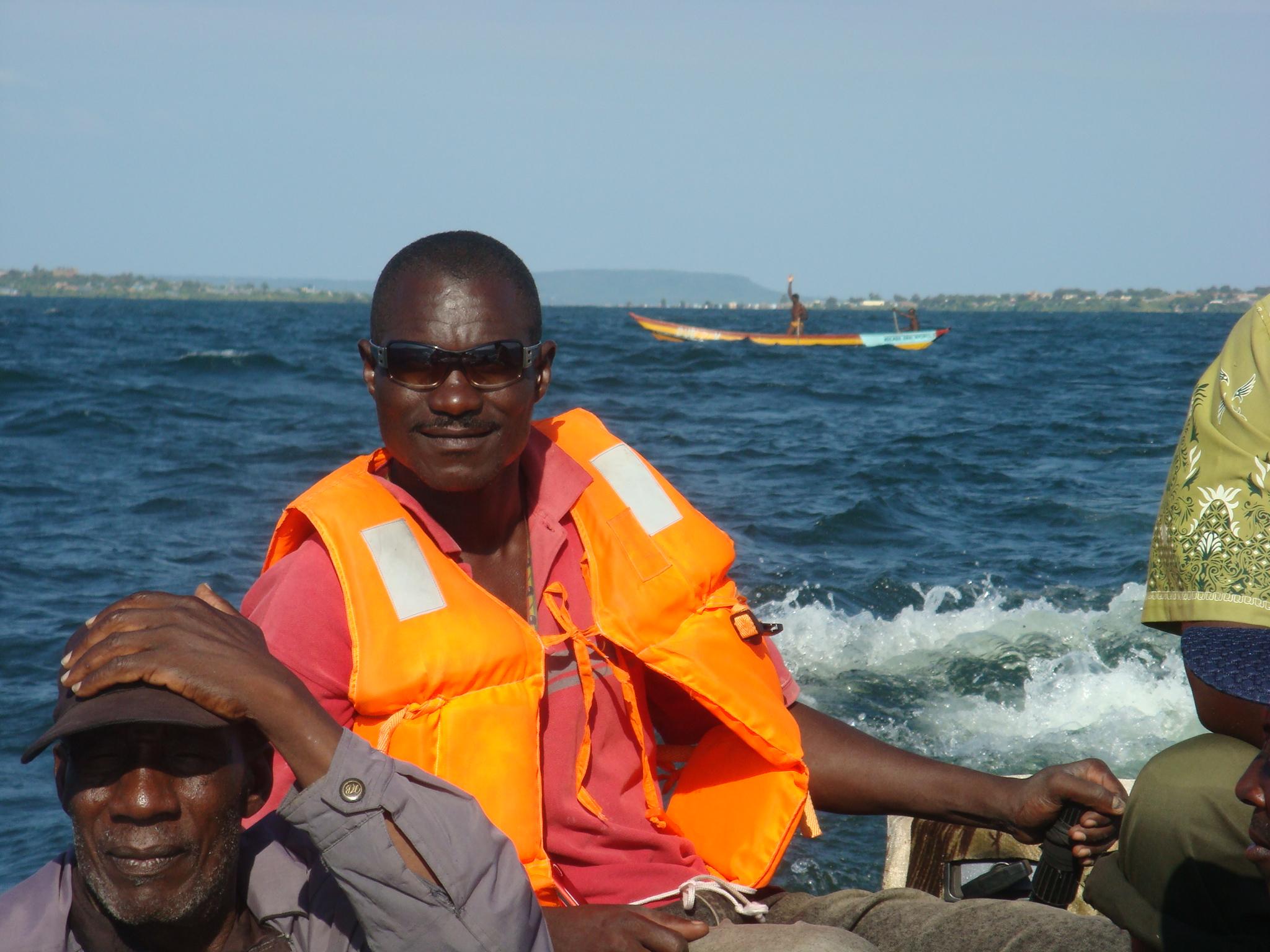 EK Emergency Boat Pilot, Walter Apiyo