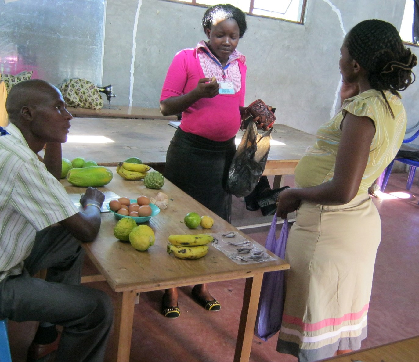 A role play on maternal nutrition