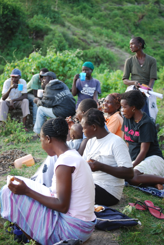 Mala Masa kanyakla group in a community meeting